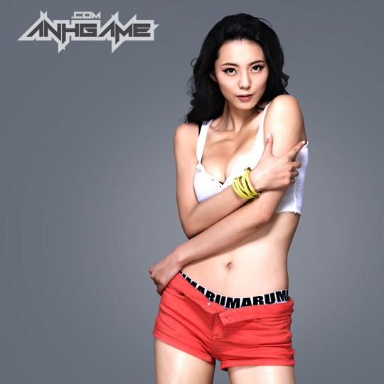 Ai Shang Zhen gợi cảm với ảnh quảng bá Queen's Blade - Ảnh 12