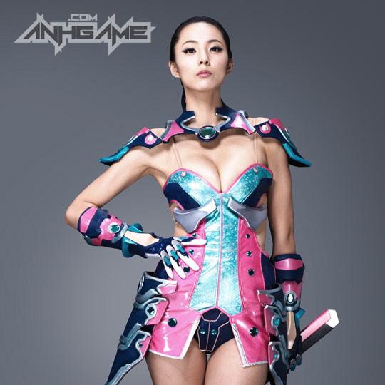 Ai Shang Zhen gợi cảm với ảnh quảng bá Queen's Blade - Ảnh 19