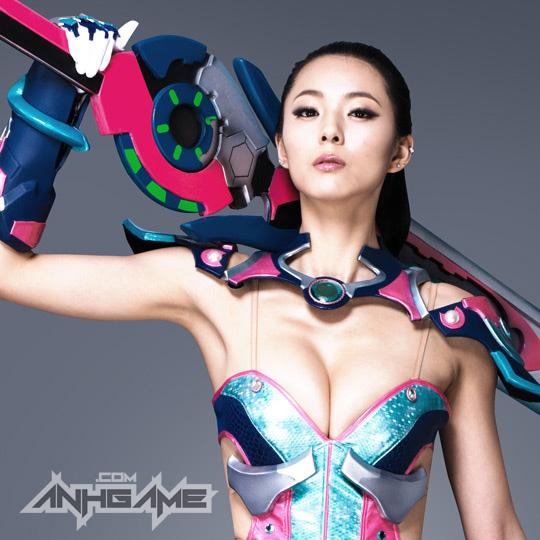 Ai Shang Zhen gợi cảm với ảnh quảng bá Queen's Blade - Ảnh 22