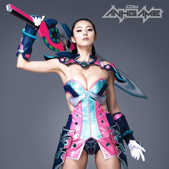 Ai Shang Zhen gợi cảm với ảnh quảng bá Queen's Blade - Ảnh 23