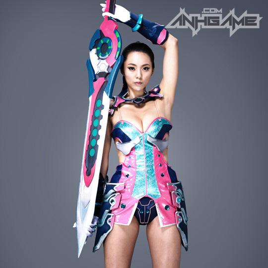 Ai Shang Zhen gợi cảm với ảnh quảng bá Queen's Blade - Ảnh 25