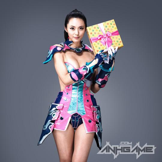 Ai Shang Zhen gợi cảm với ảnh quảng bá Queen's Blade - Ảnh 26