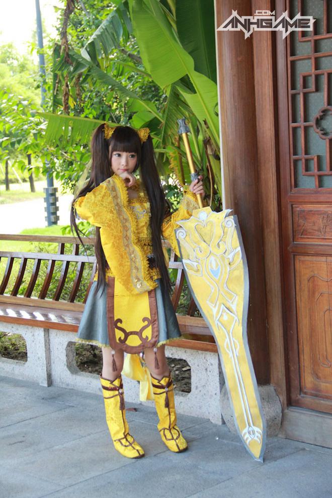 Bộ ảnh cosplay Tàng Kiếm Sơn Trang cực chất - Ảnh 3