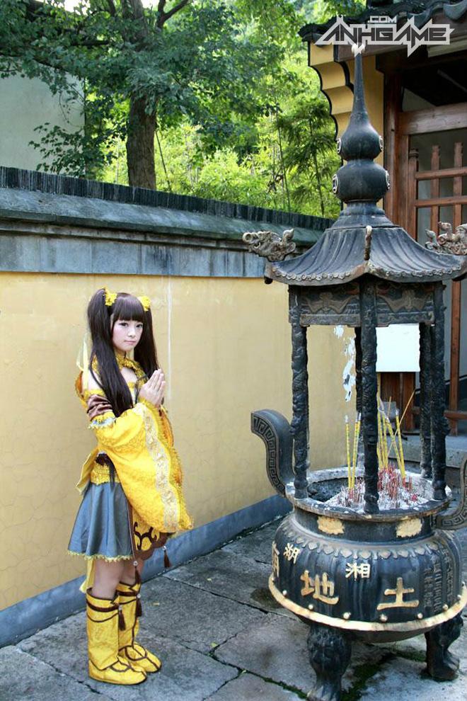Bộ ảnh cosplay Tàng Kiếm Sơn Trang cực chất - Ảnh 4