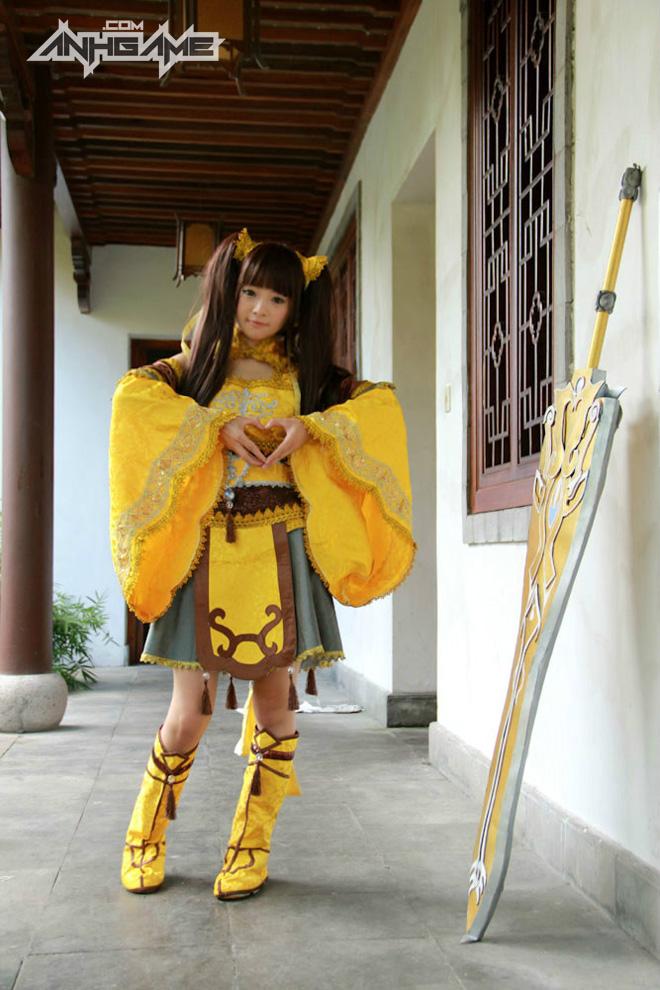 Bộ ảnh cosplay Tàng Kiếm Sơn Trang cực chất - Ảnh 5