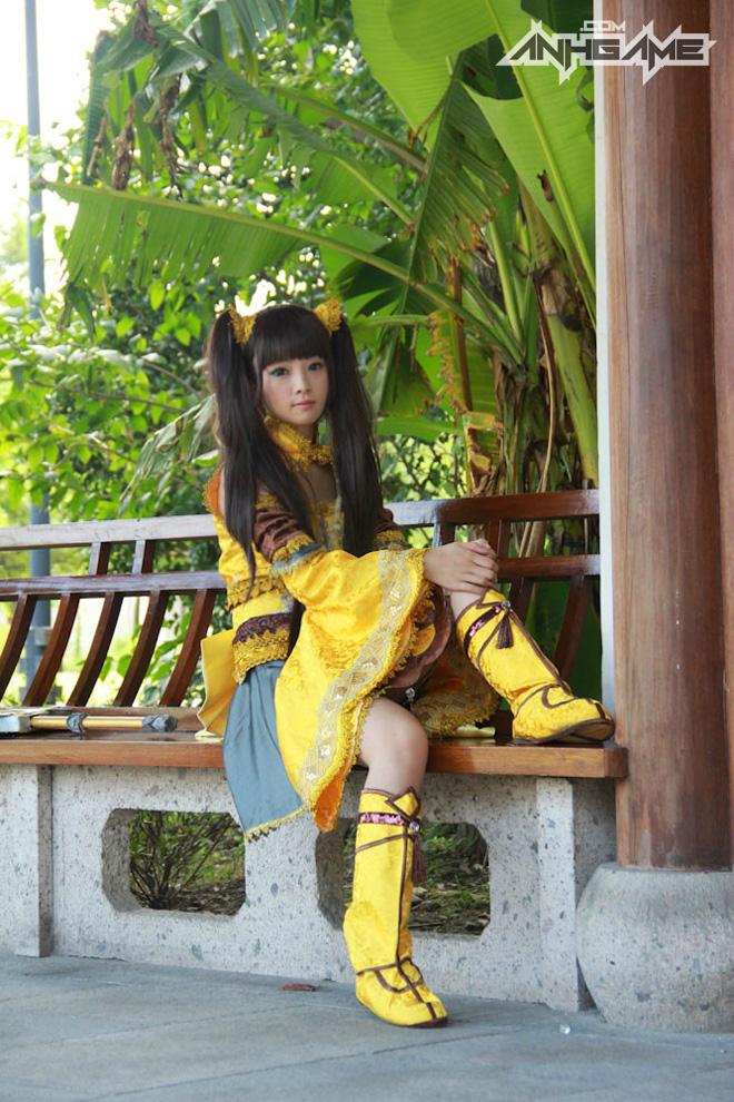 Bộ ảnh cosplay Tàng Kiếm Sơn Trang cực chất - Ảnh 8