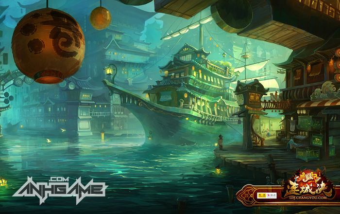 Hình nền tuyệt đẹp của game Lộc Đỉnh Ký