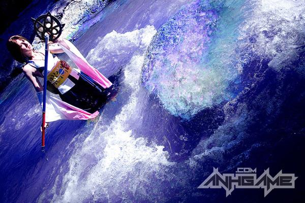 Cosplay tuyệt đẹp về Yuna trong Final Fantasy X - Ảnh 1