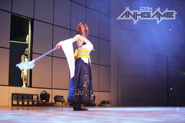 Cosplay tuyệt đẹp về Yuna trong Final Fantasy X - Ảnh 3