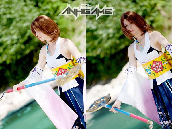 Cosplay tuyệt đẹp về Yuna trong Final Fantasy X - Ảnh 5