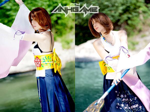 Cosplay tuyệt đẹp về Yuna trong Final Fantasy X - Ảnh 6