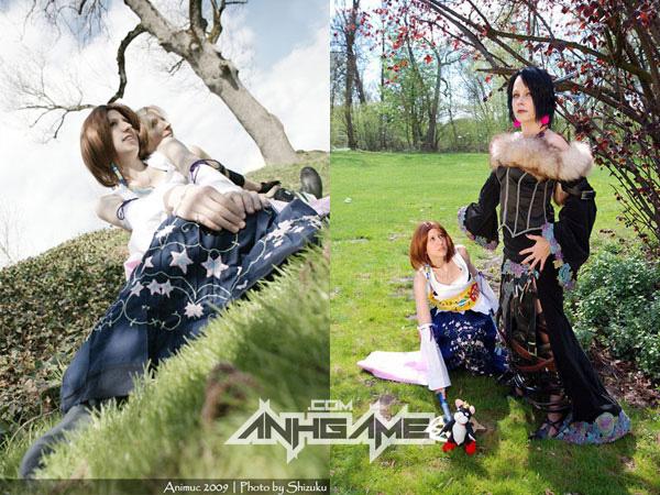 Cosplay tuyệt đẹp về Yuna trong Final Fantasy X