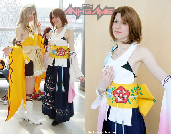 Cosplay tuyệt đẹp về Yuna trong Final Fantasy X - Ảnh 9