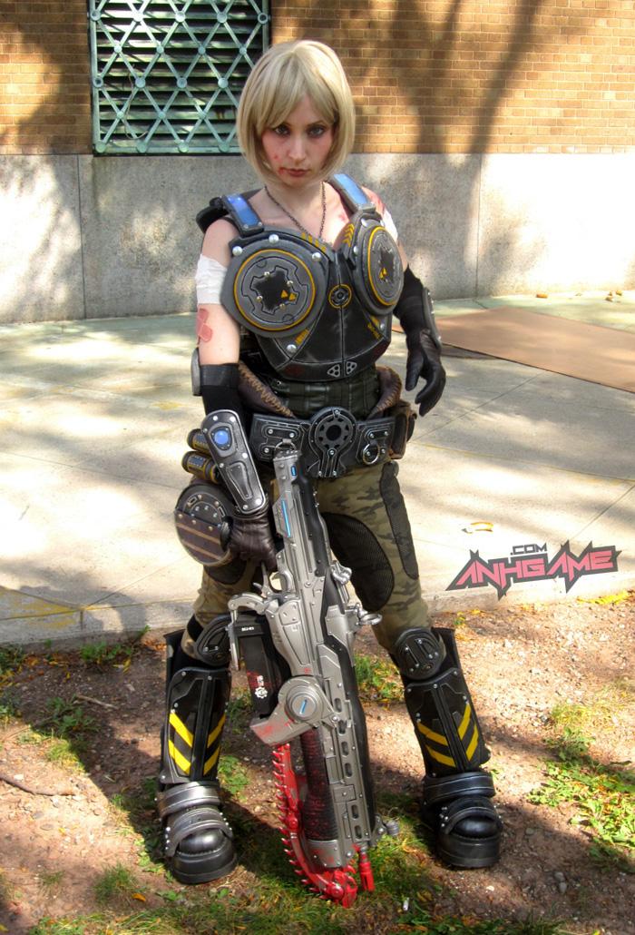 Cosplay hoành tráng của Anya Stroud (Gears of War) - Ảnh 5