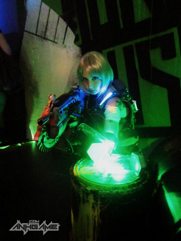 Cosplay hoành tráng của Anya Stroud (Gears of War) - Ảnh 7