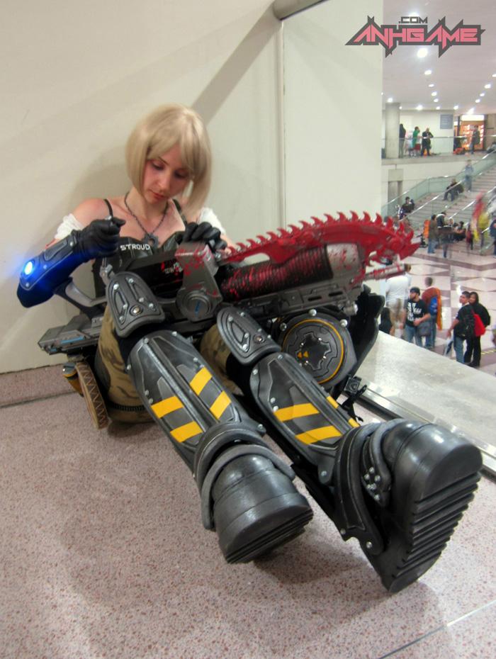 Cosplay hoành tráng của Anya Stroud (Gears of War) - Ảnh 8