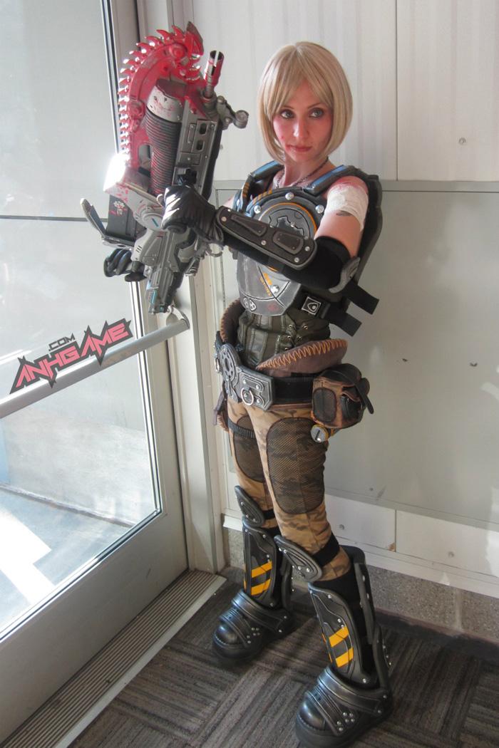 Cosplay hoành tráng của Anya Stroud (Gears of War) - Ảnh 10