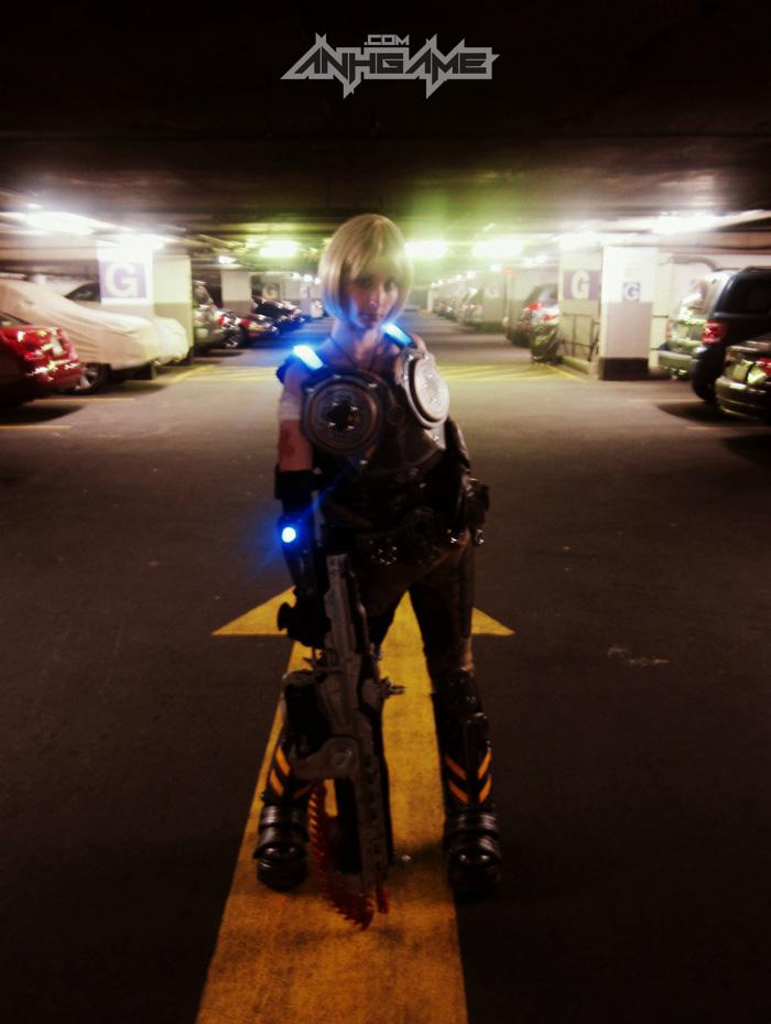 Cosplay hoành tráng của Anya Stroud (Gears of War) - Ảnh 13