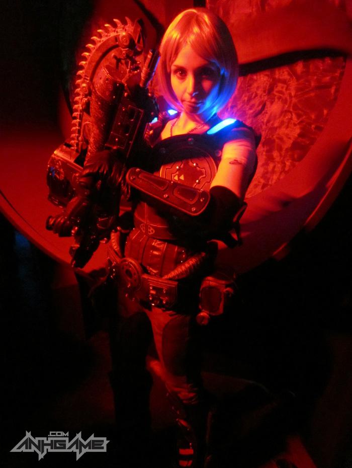 Cosplay hoành tráng của Anya Stroud (Gears of War) - Ảnh 14