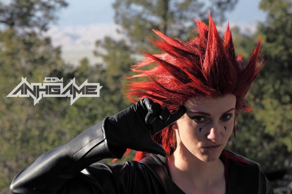 Cosplay nhân vật Axel trong Kingdom Hearts II