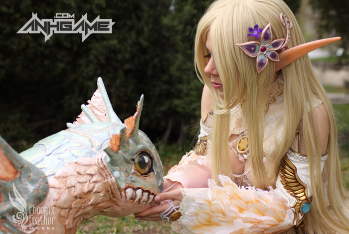 Cosplay Lineage II tuyệt đẹp của Okkido