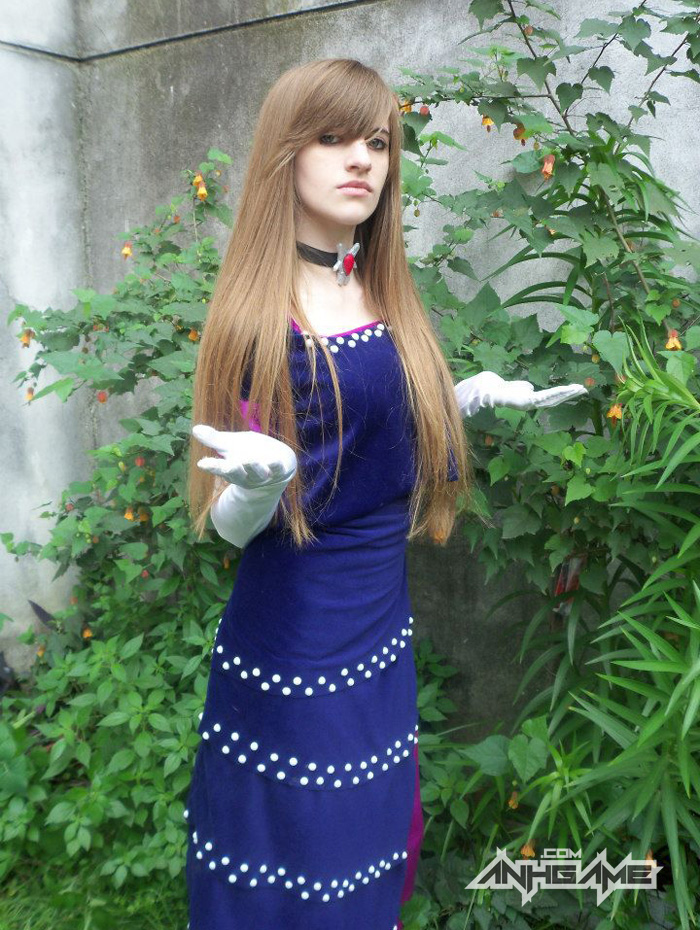 Cosplay Alexia game Resident Evil Code: Veronica - Ảnh 3