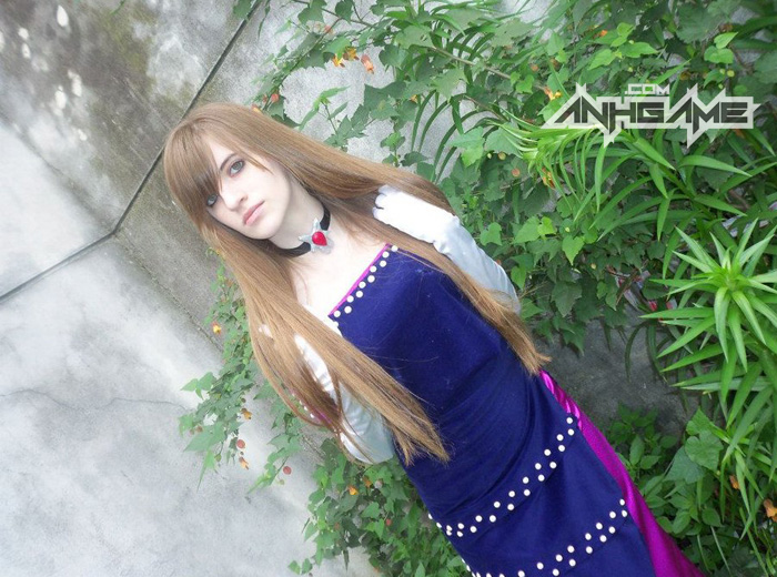 Cosplay Alexia game Resident Evil Code: Veronica - Ảnh 4