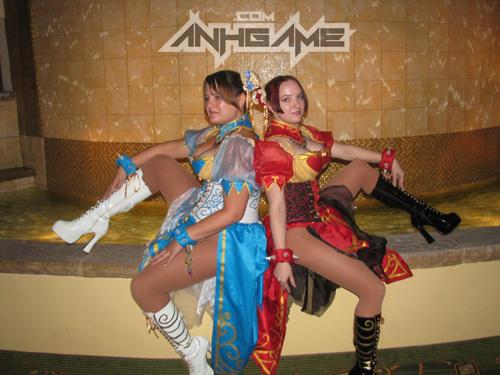"""Ngắm nữ võ sĩ Chun Li """"ngực bự"""" của Street Fighter - Ảnh 6"""