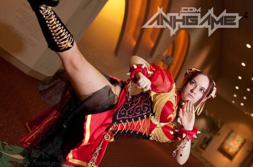 """Ngắm nữ võ sĩ Chun Li """"ngực bự"""" của Street Fighter - Ảnh 13"""