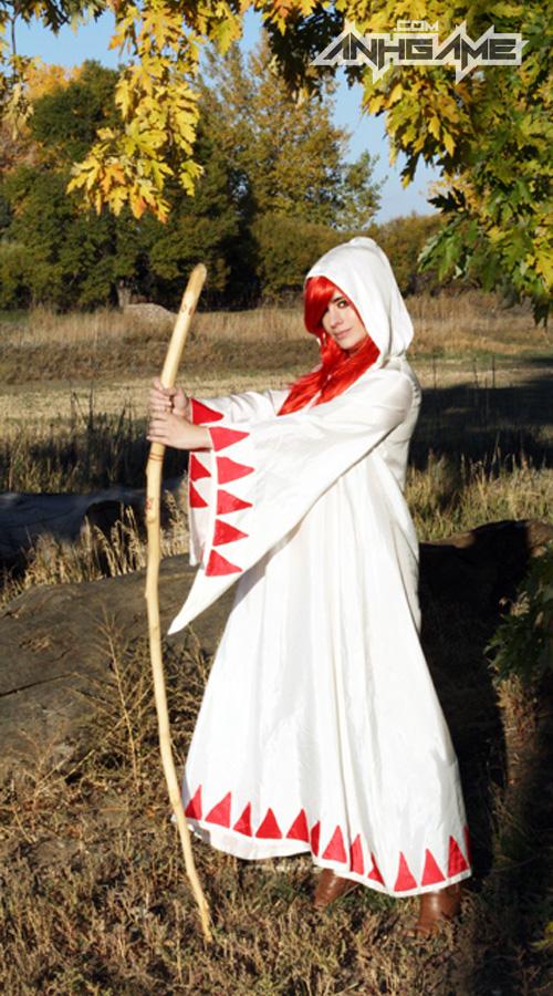 Bộ cosplay White Mage ấn tượng của Heather Martin - Ảnh 3