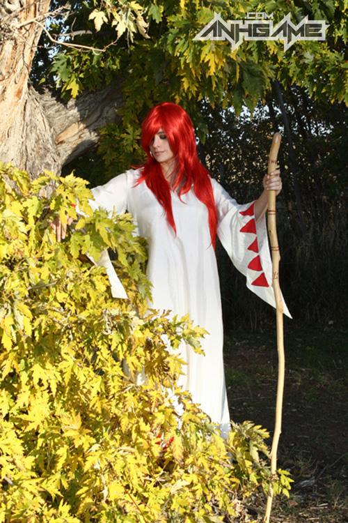 Bộ cosplay White Mage ấn tượng của Heather Martin - Ảnh 4