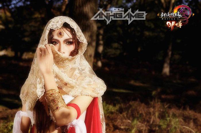 Thiếu nữ Minh Giáo gợi cảm với cosplay VLTK III - Ảnh 4