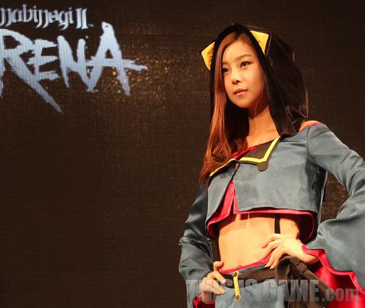 Gstar 2012: Cosplay Mabinogi 2: Arena - Ảnh 2