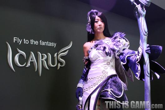 Gstar 2012: Cosplay Icarus