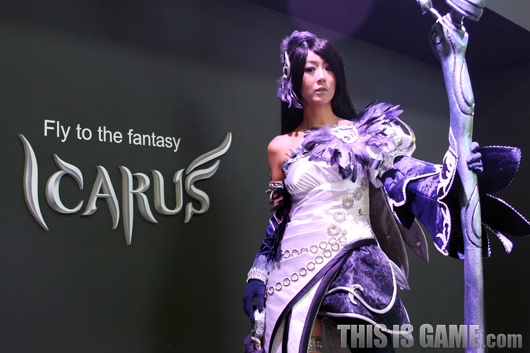 Gstar 2012: Cosplay Icarus - Ảnh 3