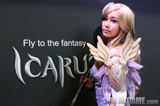 Gstar 2012: Cosplay Icarus - Ảnh 5
