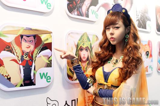 Gstar 2012: Những cô nàng xinh đẹp của Wemade - Ảnh 5