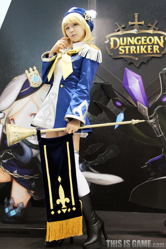 Gstar 2012: Cosplay Dungeon Striker - Ảnh 3